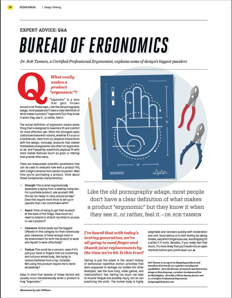 Bureau of Ergonomics Sept-Oct